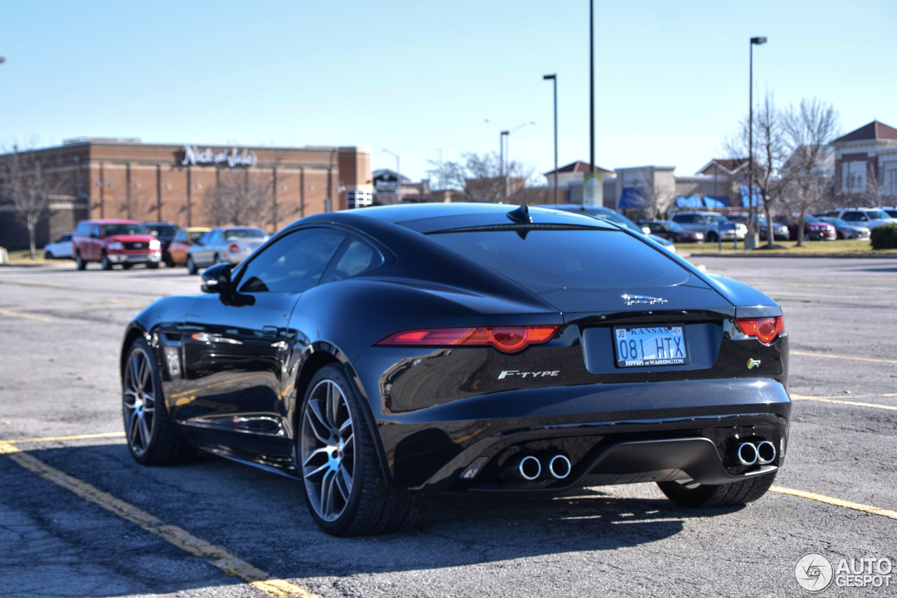 jaguar f type r coup 20 fvrier 2017 autogespot. Black Bedroom Furniture Sets. Home Design Ideas