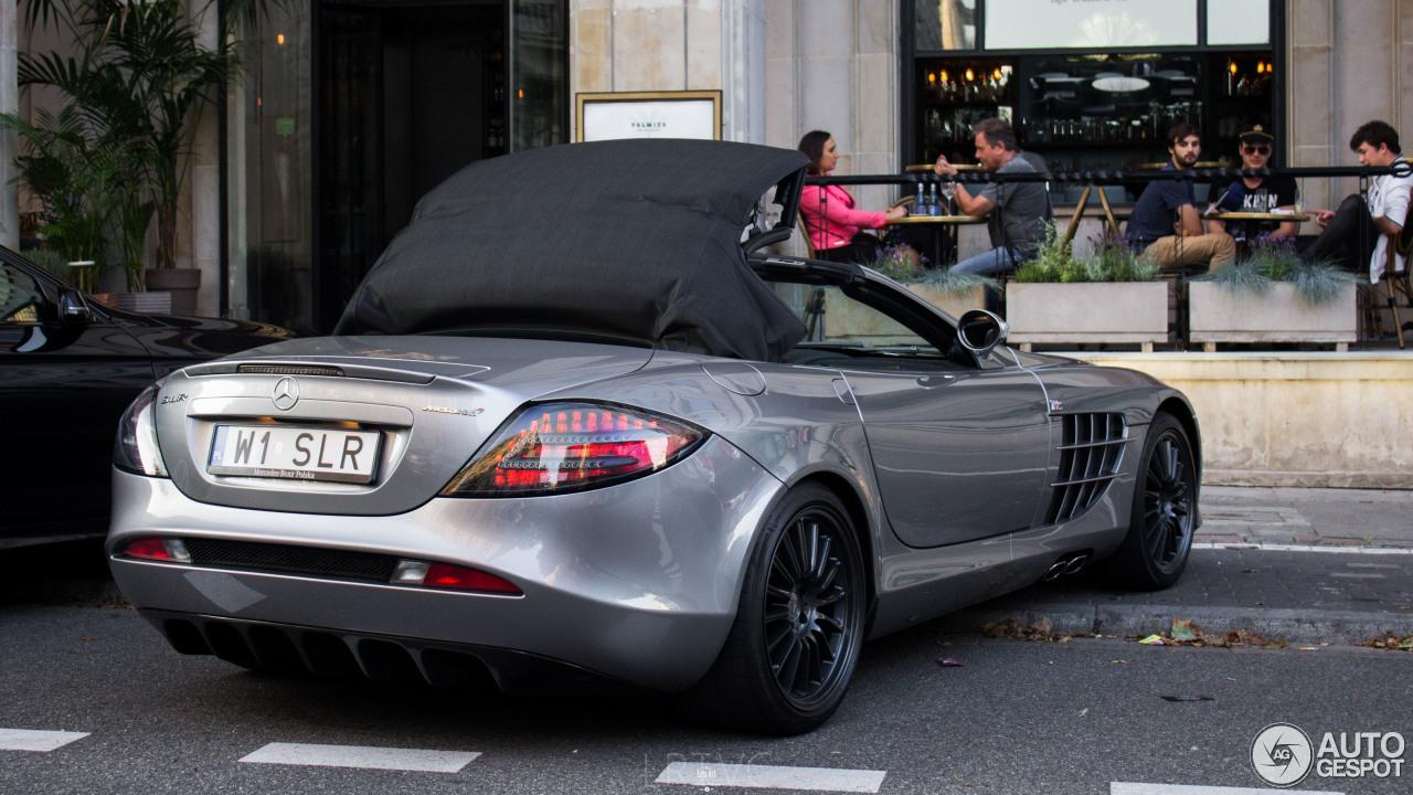 Mercedes benz slr mclaren roadster 722 s 20 february for Mercedes benz mclaren slr