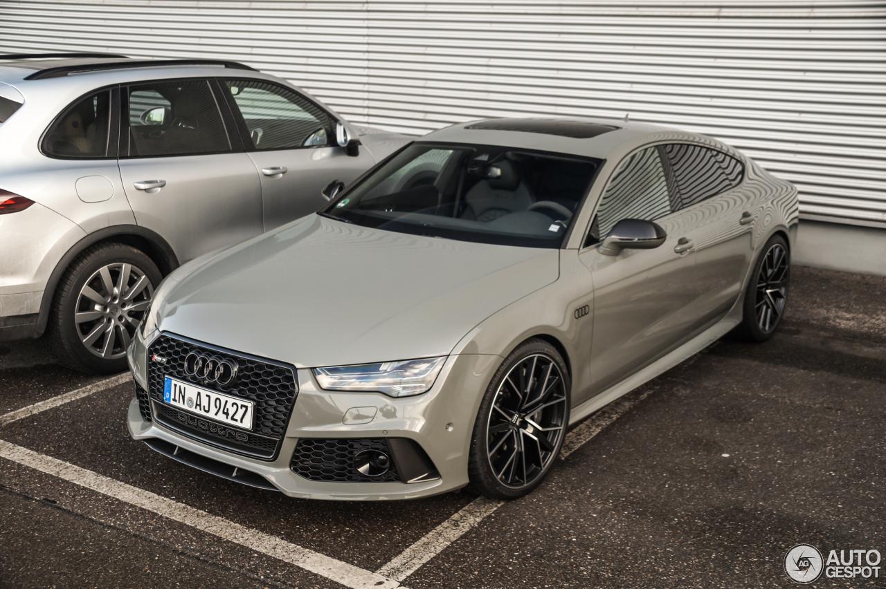 Audi Rs7 Sportback 2015 Performance 21 February 2017 Autogespot