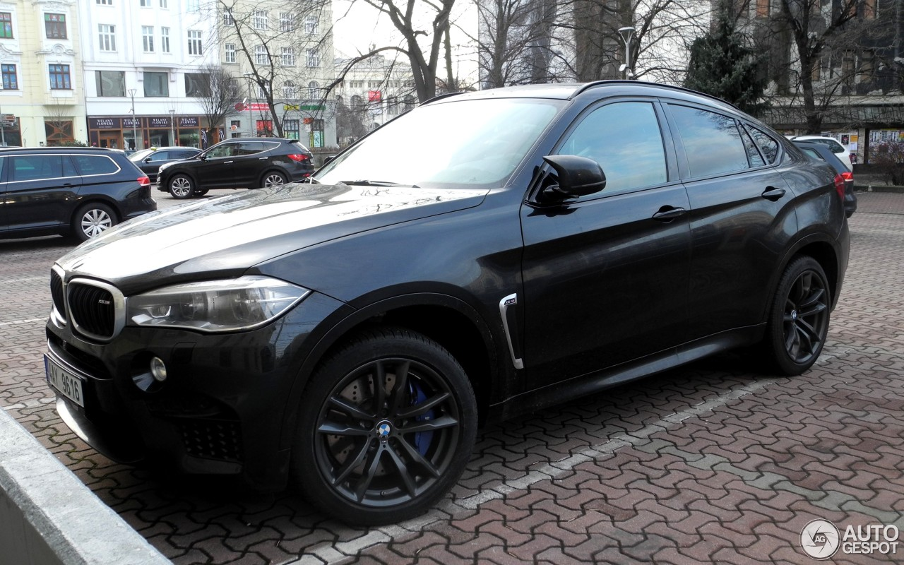 bmw x6 m f86 22 february 2017 autogespot. Black Bedroom Furniture Sets. Home Design Ideas
