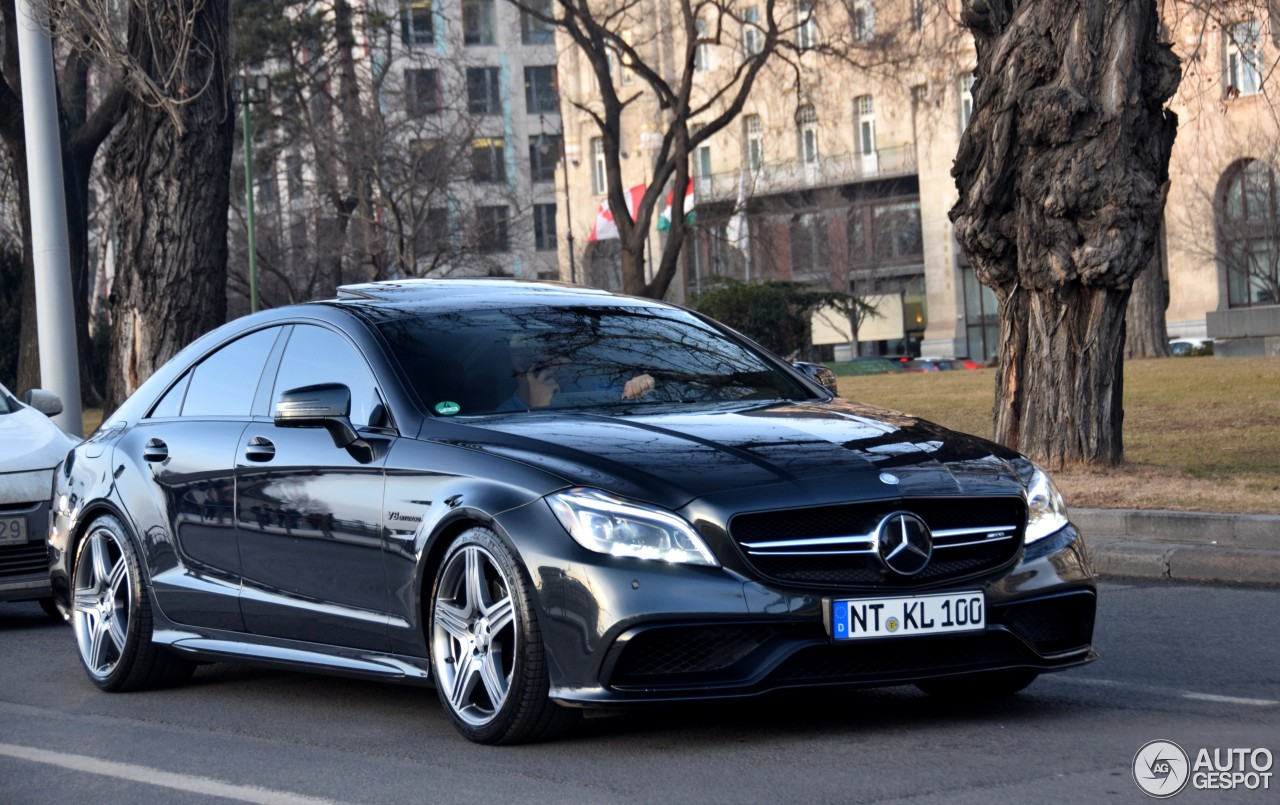 Mercedes Benz Cls 63 Amg C218 2017