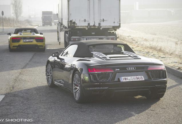 Audi R8 V10 Spyder 2016