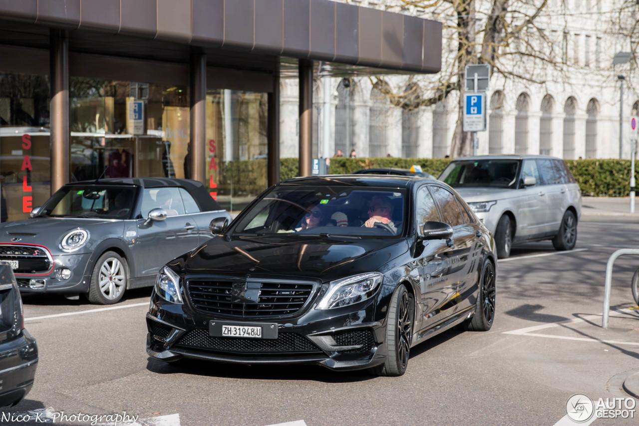Mercedes benz brabus 850 6 0 biturbo v222 25 february for Mercedes benz 850