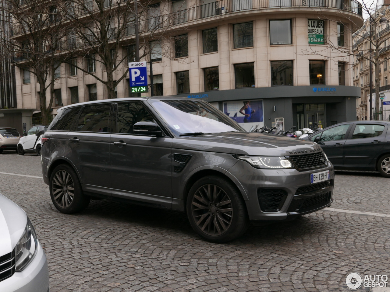 land rover range rover sport svr 26 february 2017 autogespot. Black Bedroom Furniture Sets. Home Design Ideas