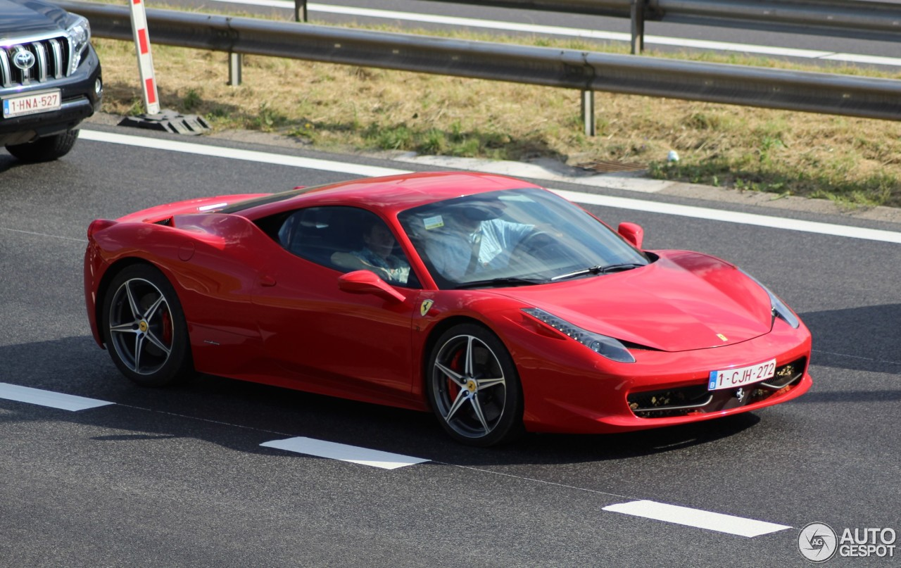 Ferrari 458 Italia - 27 February 2017 - Autogespot