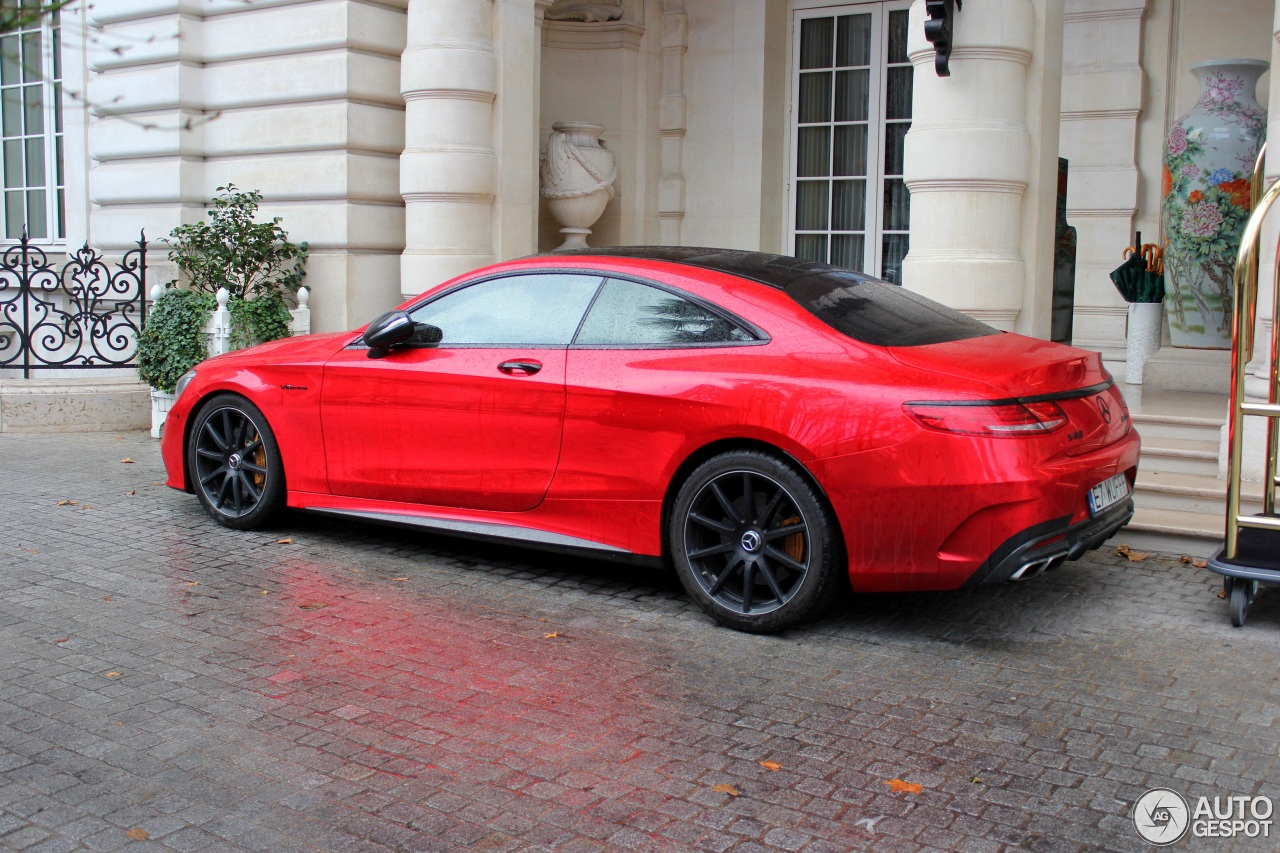 Mercedes benz s 63 amg coup c217 27 fvrier 2017 for 2017 mercedes benz amg s 63 coupe
