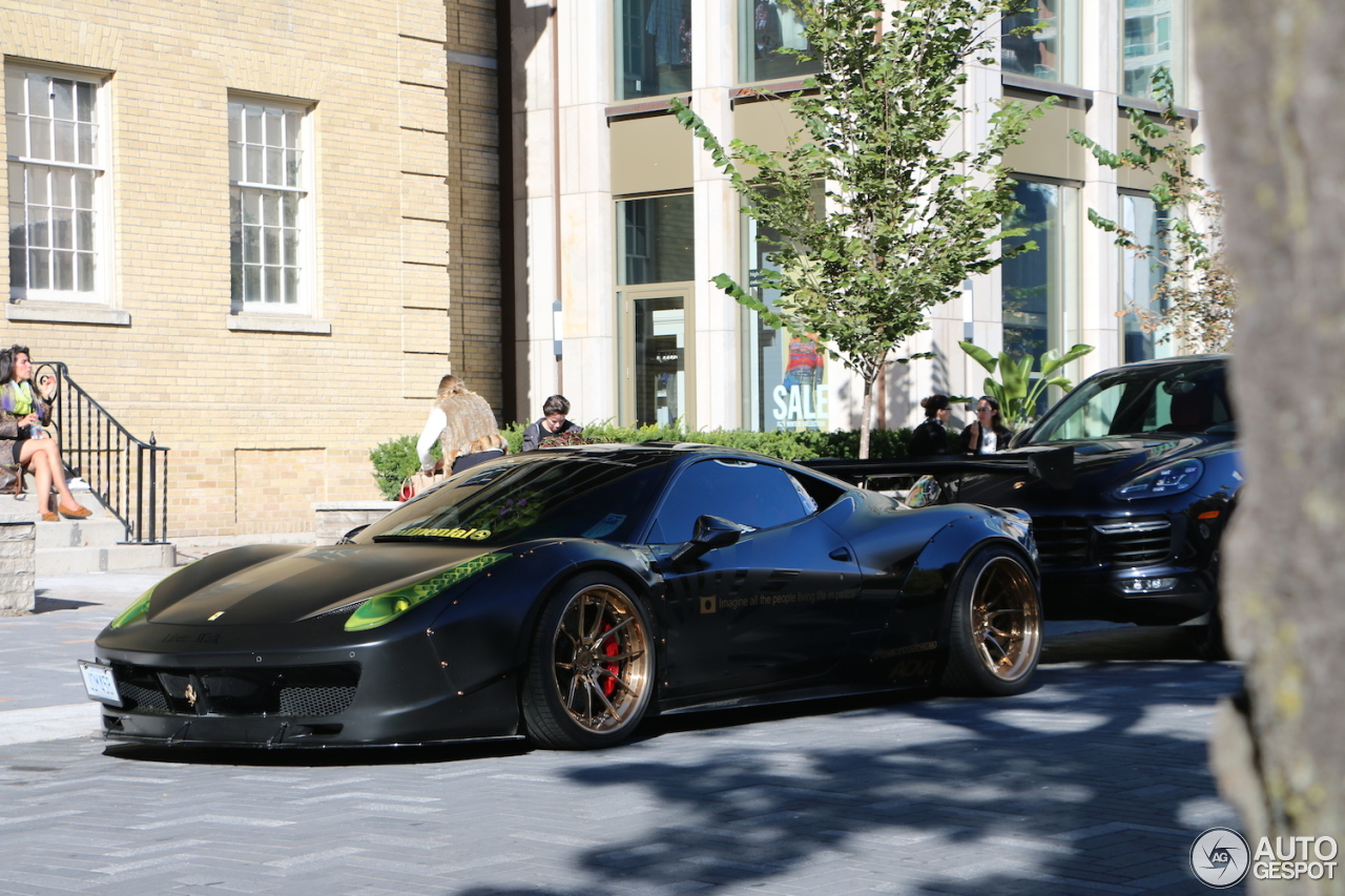ferrari italia widebody. ferrari 458 italia liberty walk widebody d