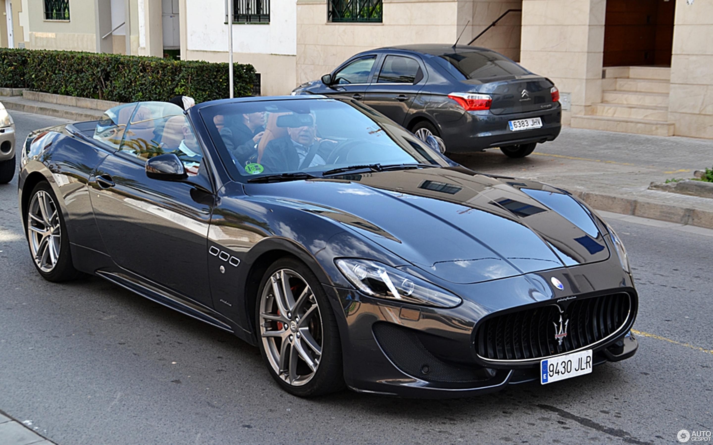 Maserati GranCabrio Sport 2013 - 28 February 2017 - Autogespot
