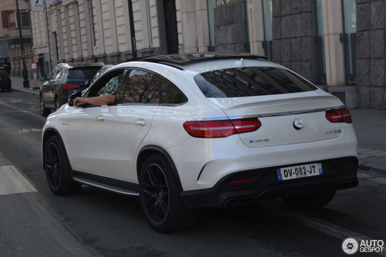 Mercedes amg gle 63 s coup 1 march 2017 autogespot for 2017 amg gle 63 mercedes benz