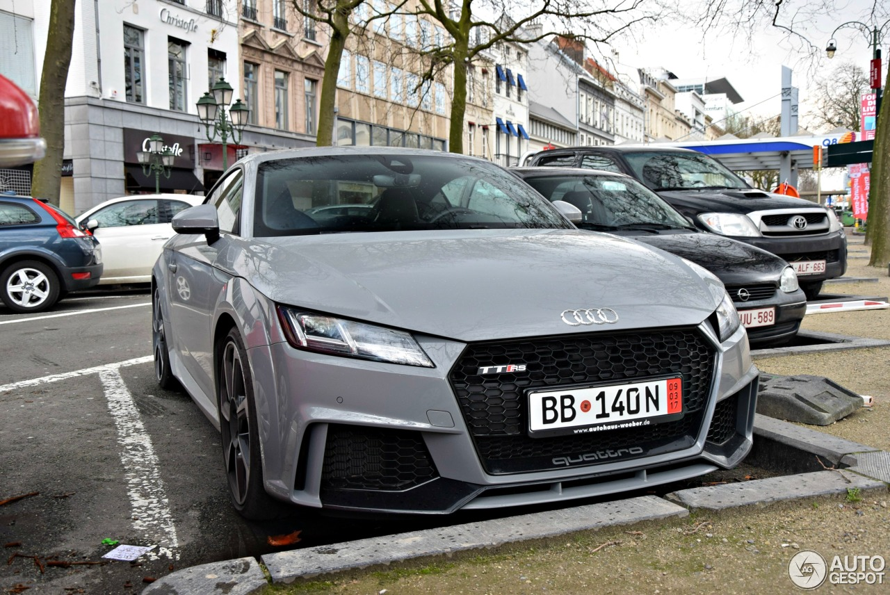 Audi audi rs tt : Audi TT-RS 2017 - 7 March 2017 - Autogespot