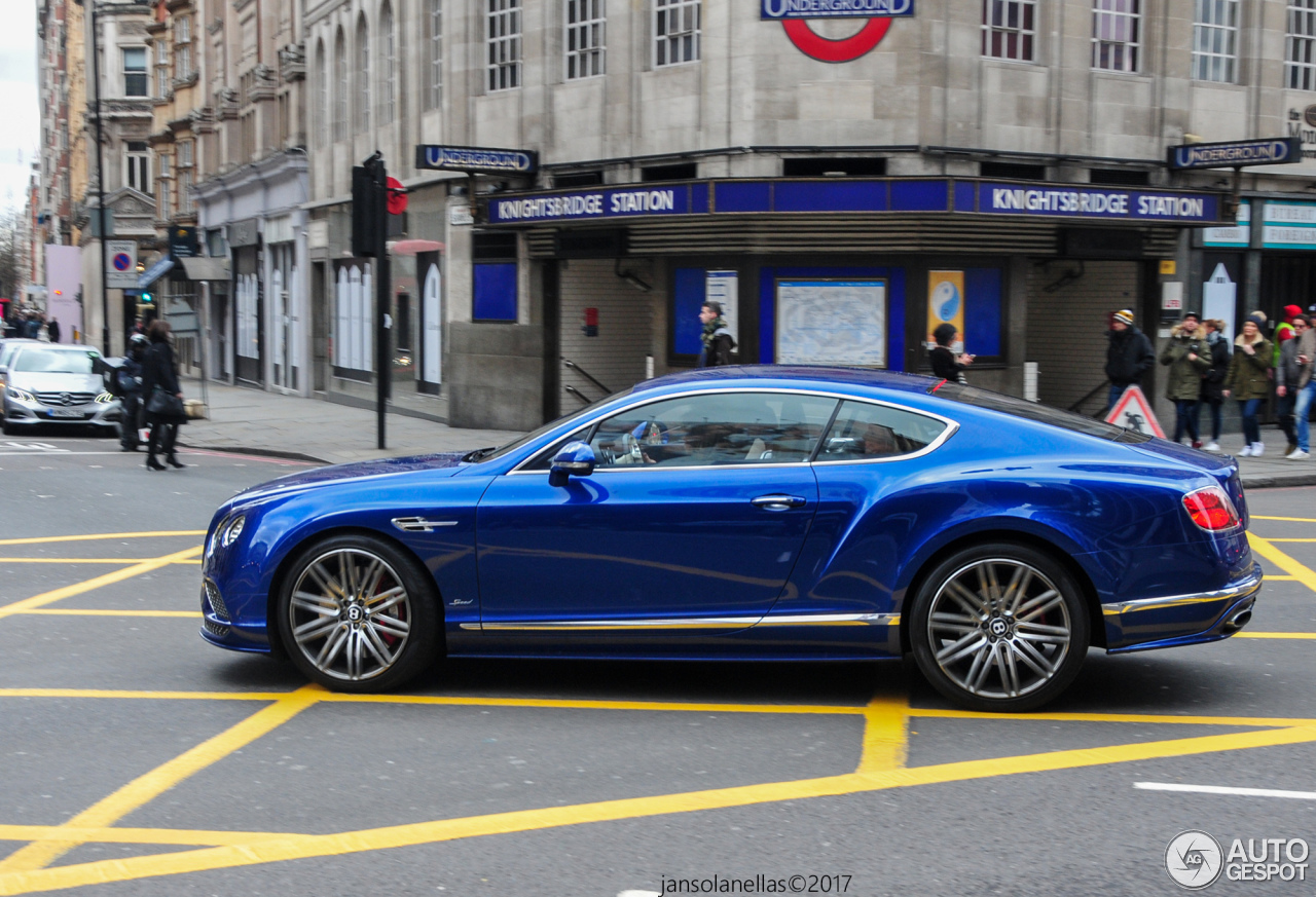bentley continental gt speed 2016 8 march 2017 autogespot. Black Bedroom Furniture Sets. Home Design Ideas
