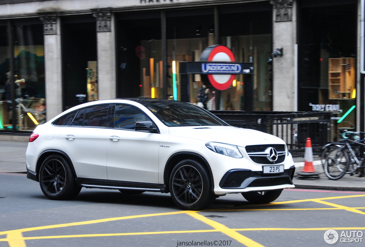 Mercedes amg gle 63 s coup 8 march 2017 autogespot for 2017 amg gle 63 mercedes benz