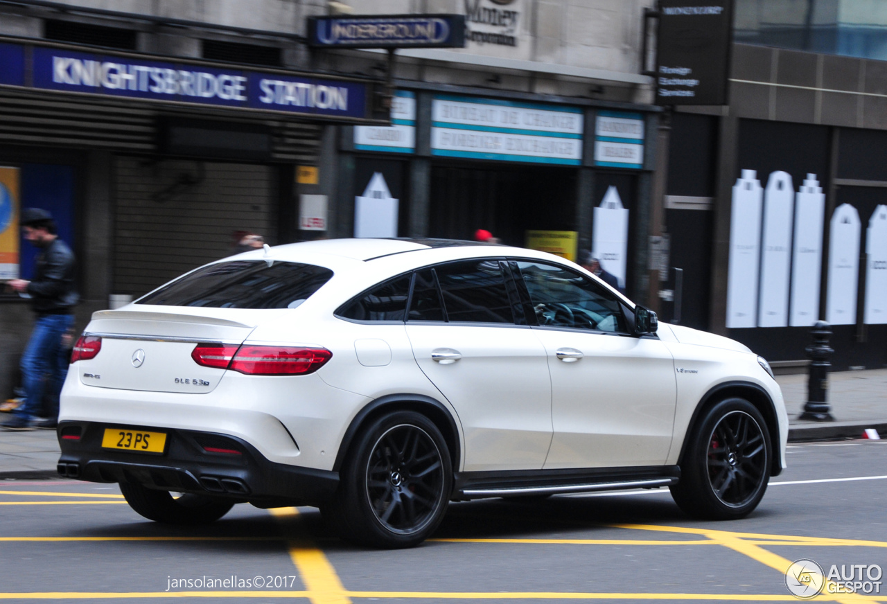 Mercedes amg gle 63 s coup 8 maro 2017 autogespot for 2017 mercedes benz amg gle 63