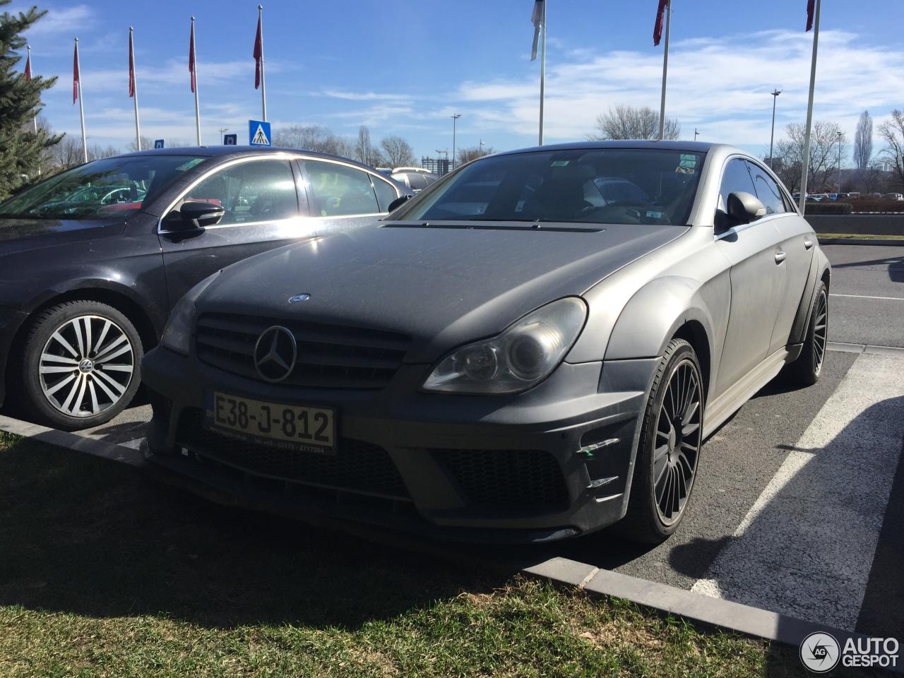Mercedes benz cls 63 amg c219 prior design 8 march 2017 for 2017 amg cls 63 mercedes benz