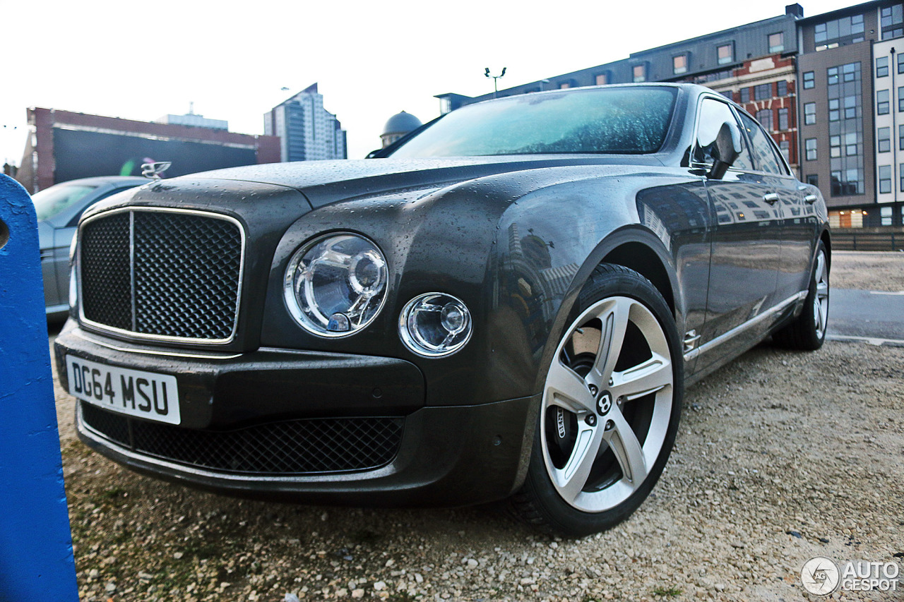 Bentley Mulsanne Speed 2015