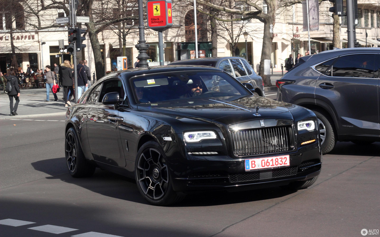 rolls royce wraith black badge 9 mars 2017 autogespot