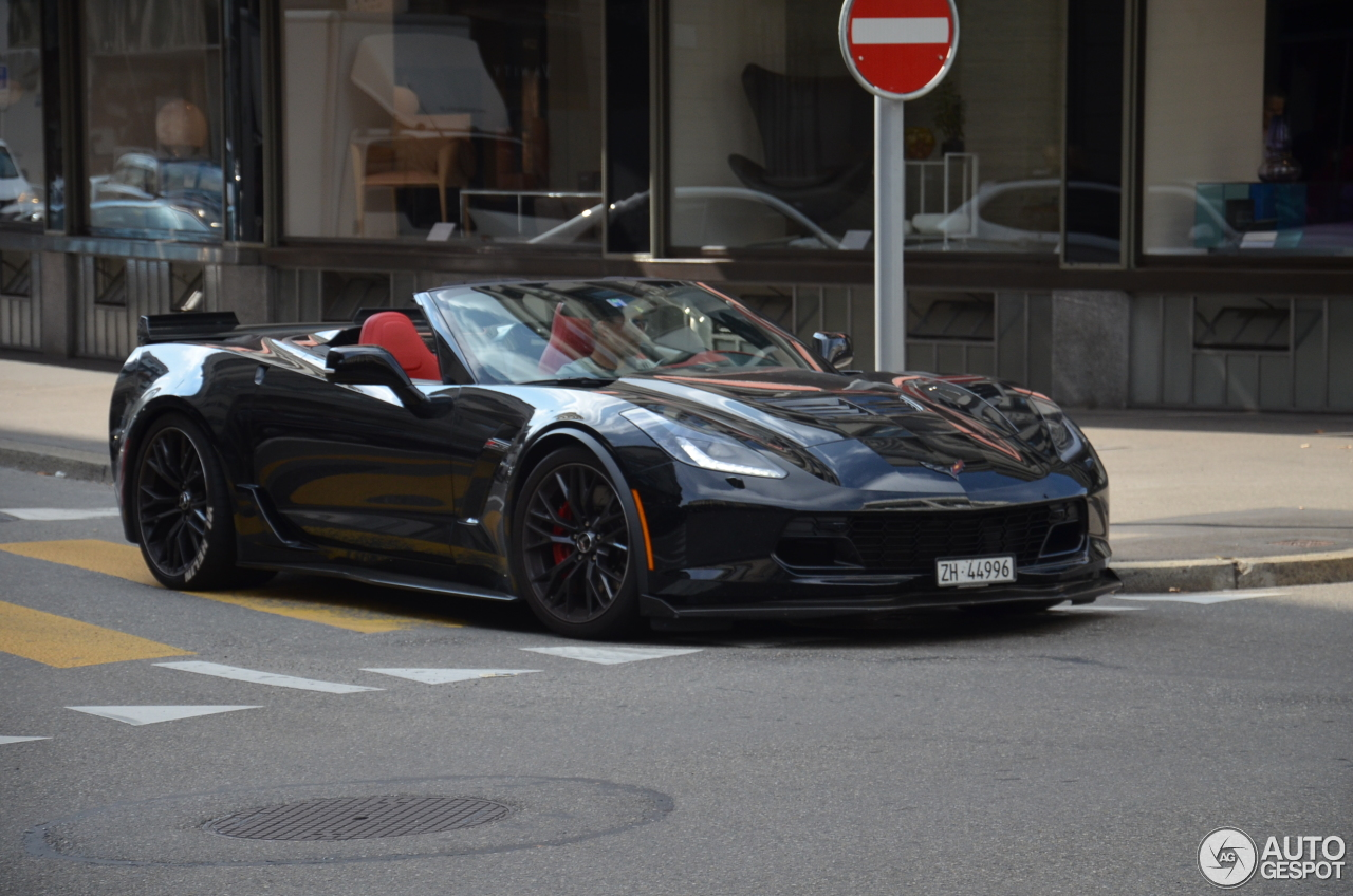 Chevrolet Corvette C7 Z06 Convertible 10 March 2017