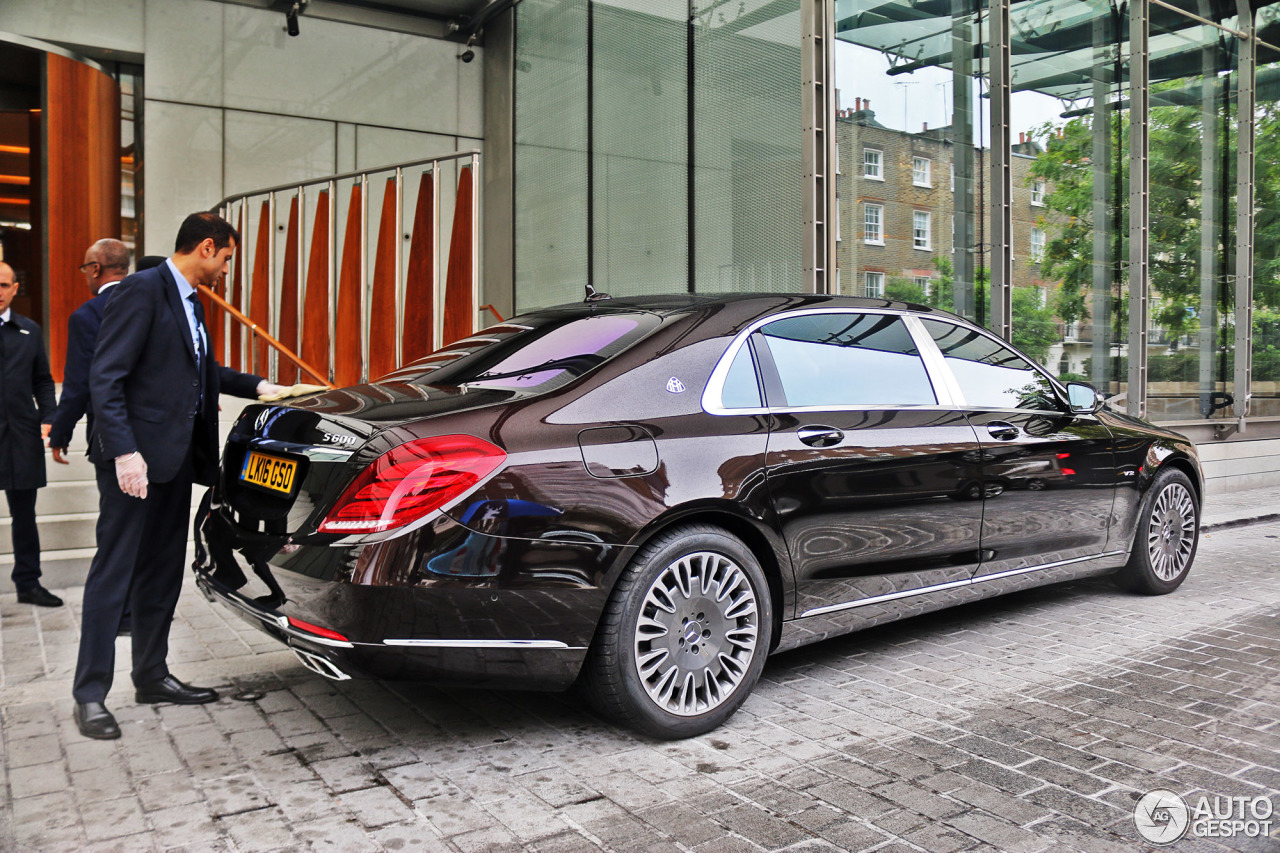 mercedes maybach s 600 x222 10 march 2017 autogespot. Black Bedroom Furniture Sets. Home Design Ideas
