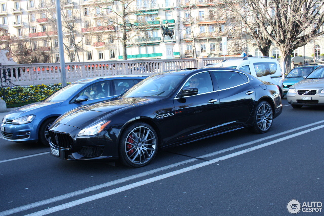 maserati quattroporte gts gransport 12 march 2017 autogespot. Black Bedroom Furniture Sets. Home Design Ideas