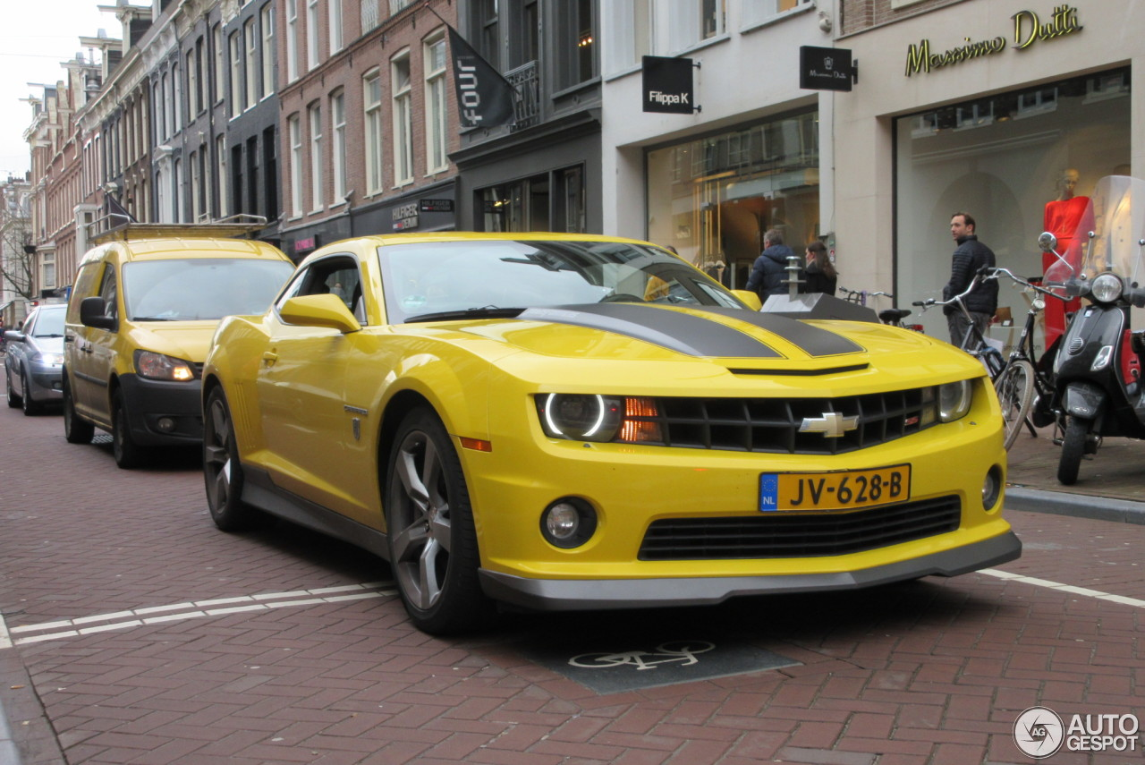 Chevrolet Camaro Ss Transformers Edition 13 March 2017
