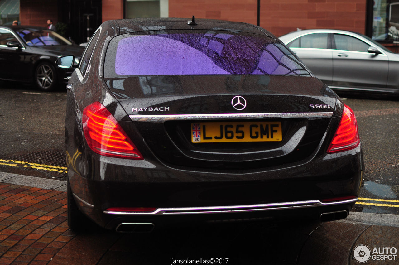 mercedes maybach s 600 x222 13 march 2017 autogespot. Black Bedroom Furniture Sets. Home Design Ideas