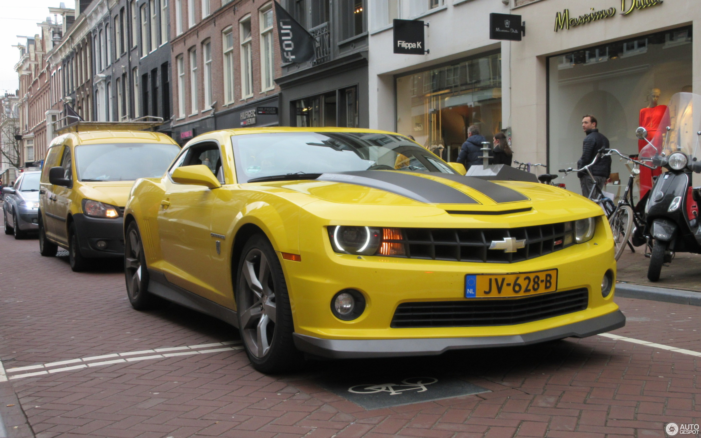 Chevrolet Camaro SS Transformers Edition - 13 March 2017 - Autogespot
