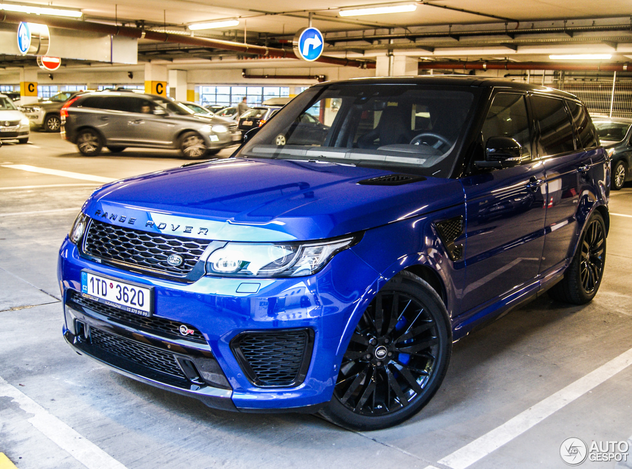 land rover range rover sport svr 16 march 2017 autogespot. Black Bedroom Furniture Sets. Home Design Ideas