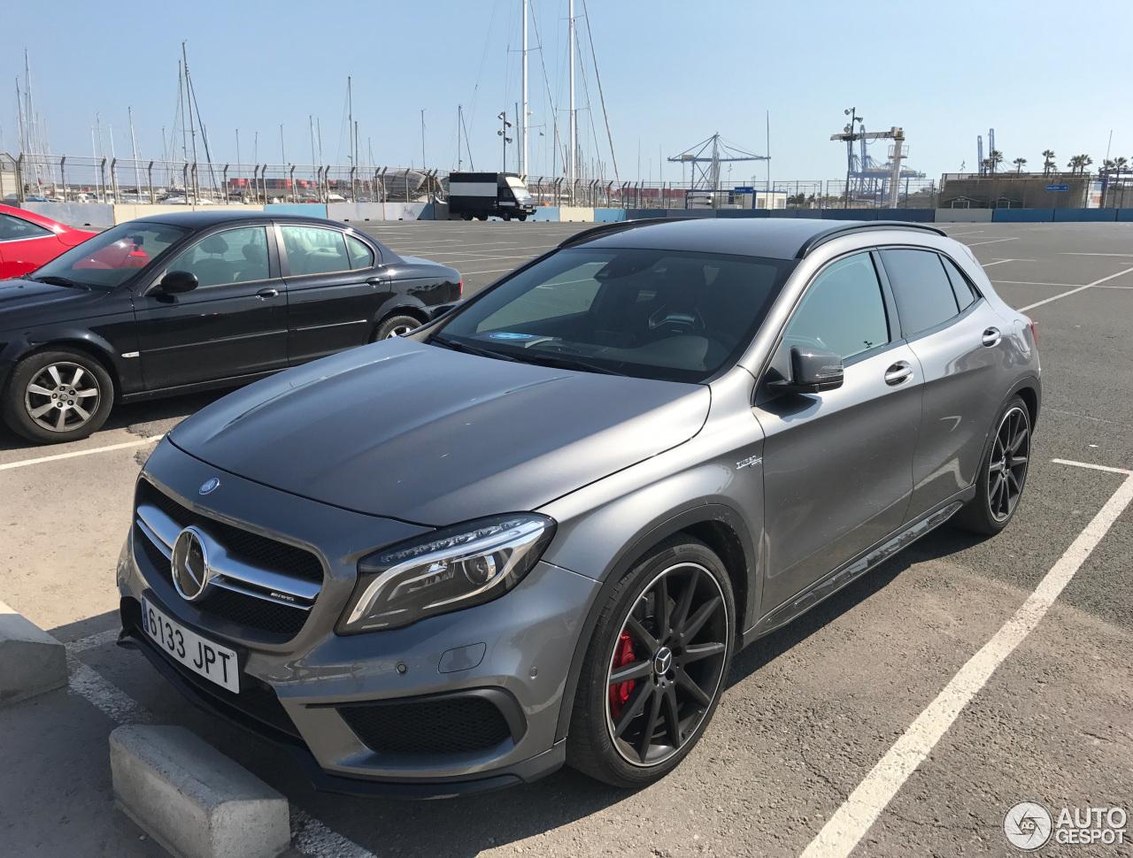 Mercedes benz gla 45 amg x156 16 marzo 2017 autogespot for 2017 amg gla 45 mercedes benz