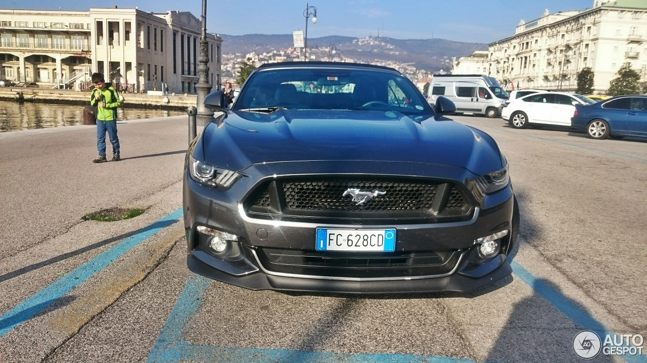 Ford Mustang GT Convertible 2015 - 17 March 2017 - Autogespot