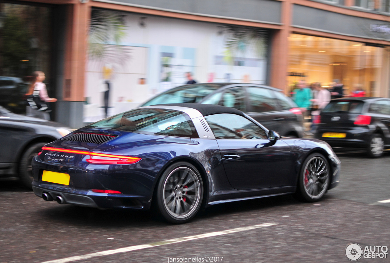 porsche 991 targa 4s mkii 17 march 2017 autogespot. Black Bedroom Furniture Sets. Home Design Ideas