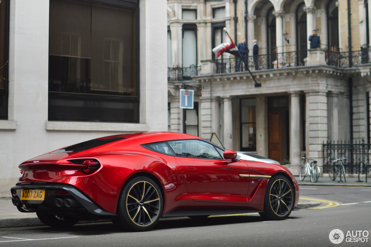 aston martin vanquish zagato - 18 march 2017 - autogespot