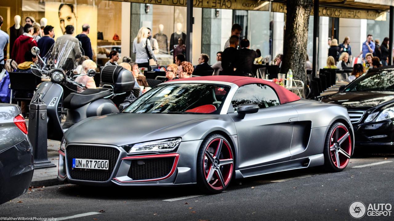 Berühmt Audi R8 V10 Spyder 2013 Regula Tuning - 18 March 2017 - Autogespot @AM_56