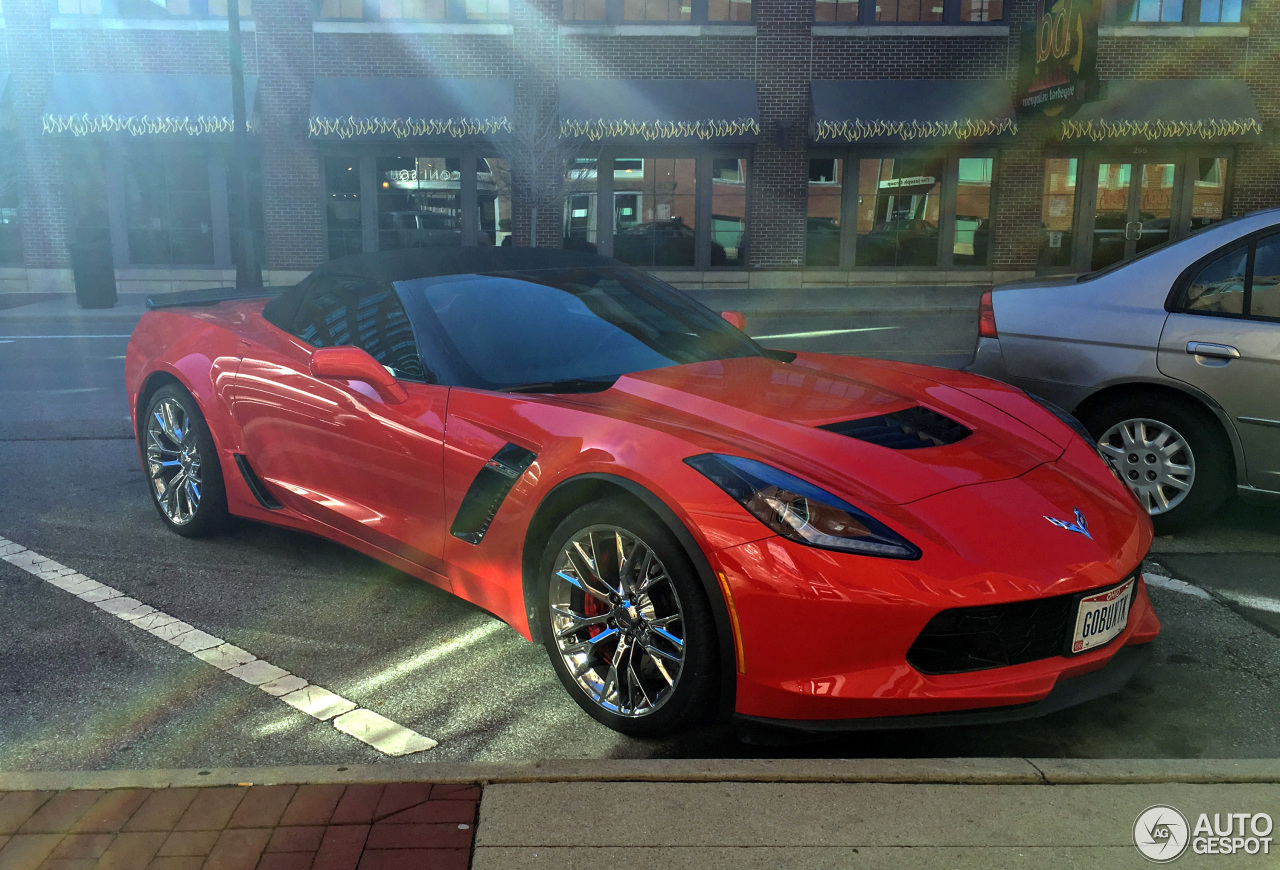Chevrolet Corvette C7 Z06 Convertible 19 March 2017