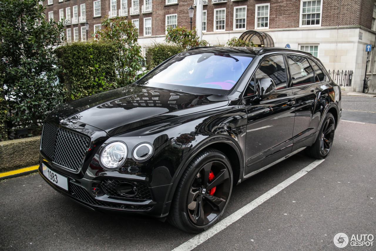 Bentley Bentayga 20 March 2017 Autogespot
