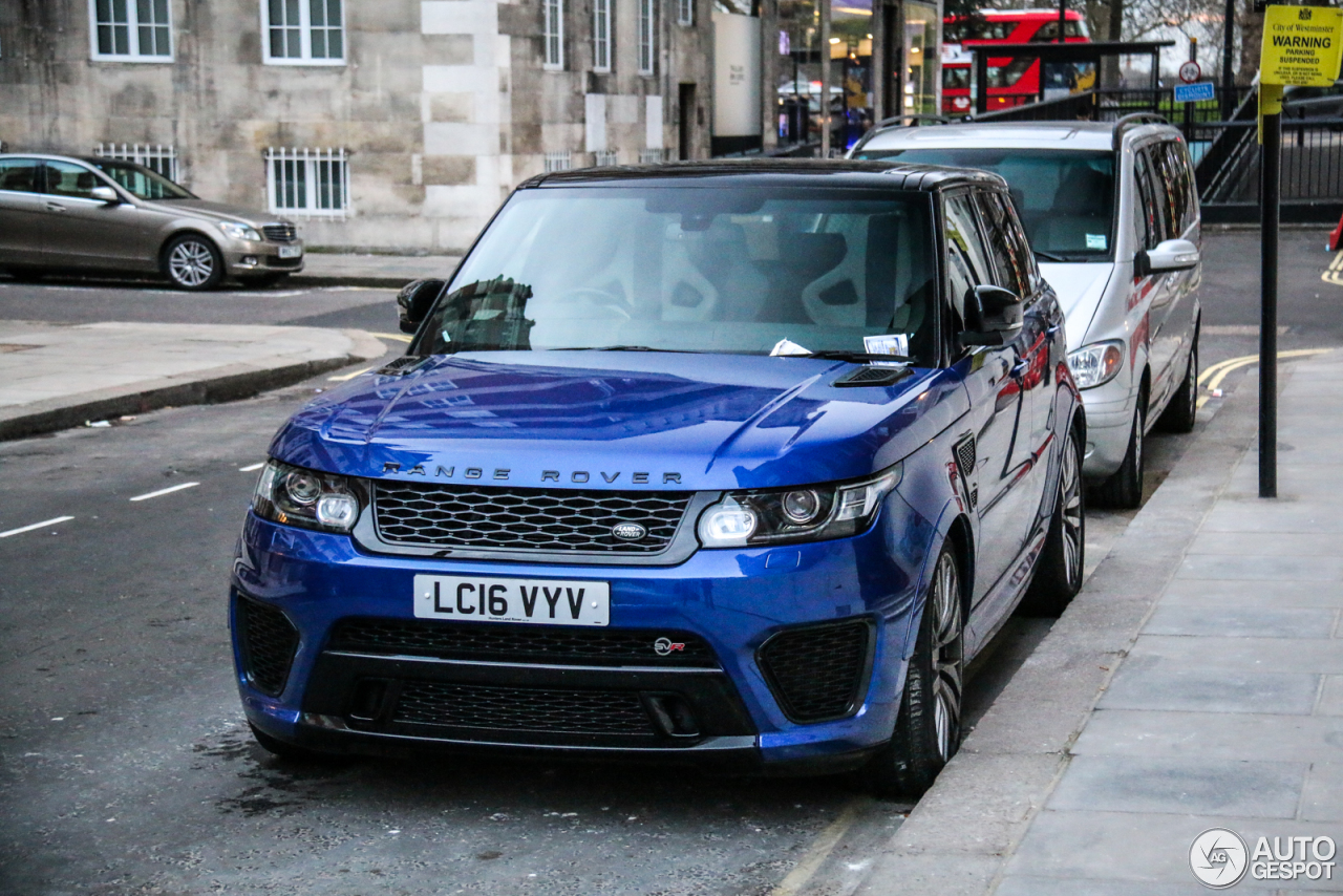 land rover range rover sport svr 20 march 2017 autogespot. Black Bedroom Furniture Sets. Home Design Ideas