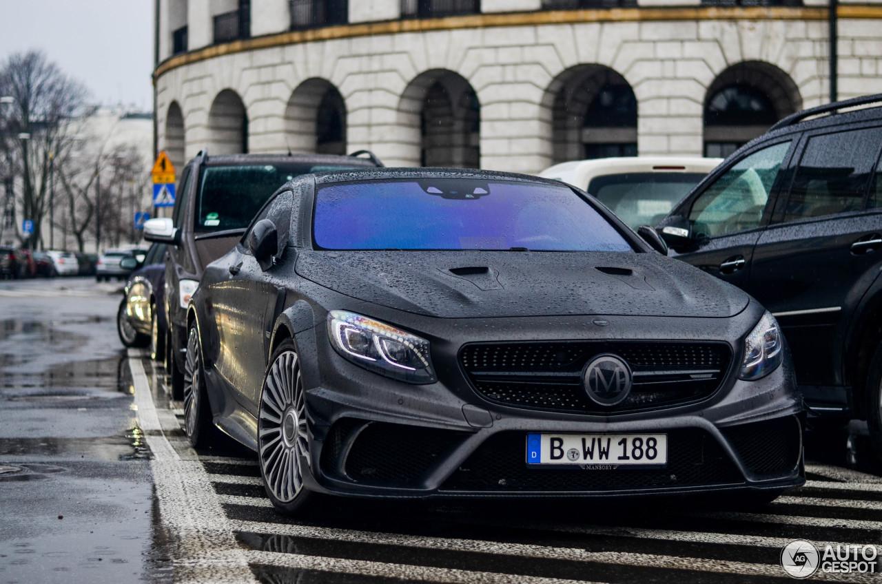 Mercedes Benz Mansory S 63 Amg Coupe Black Edition 20