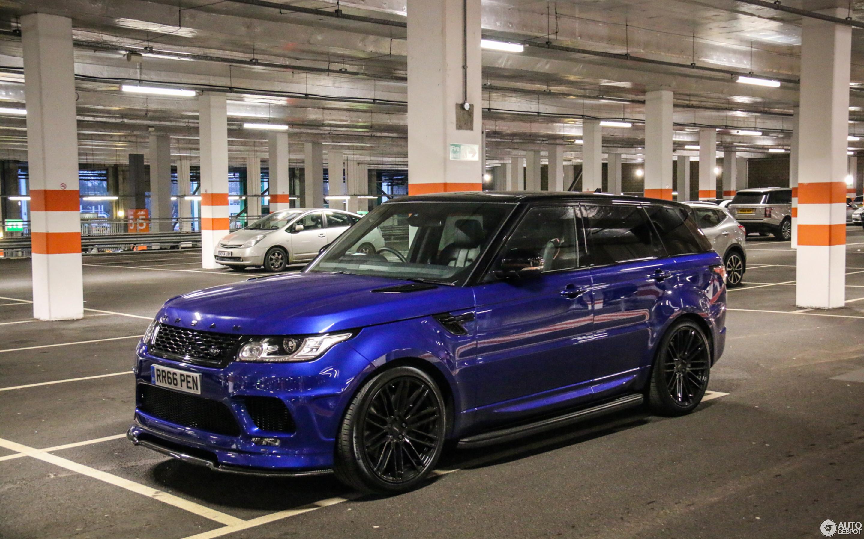 Land Rover Urban Range Rover Sport Svr 20 March 2017