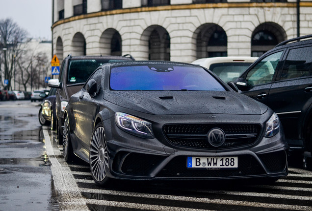 Mercedes-Benz Mansory S 63 AMG Coupe Black Edition