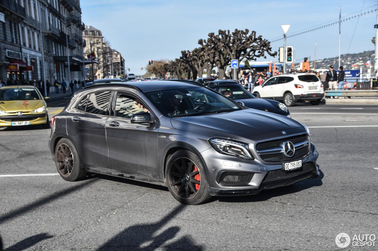 Mercedes benz gla 45 amg x156 21 mrz 2017 autogespot for 2017 amg gla 45 mercedes benz