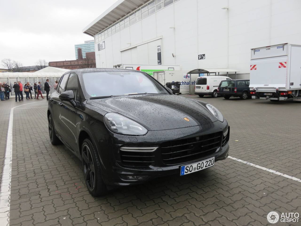 porsche 958 cayenne turbo s mkii 21 mrz 2017 autogespot. Black Bedroom Furniture Sets. Home Design Ideas