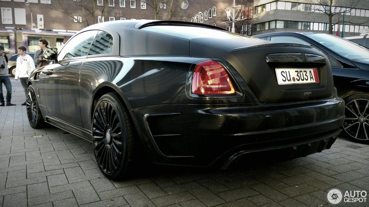 RollsRoyce Mansory Wraith  21 maart 2017  Autogespot