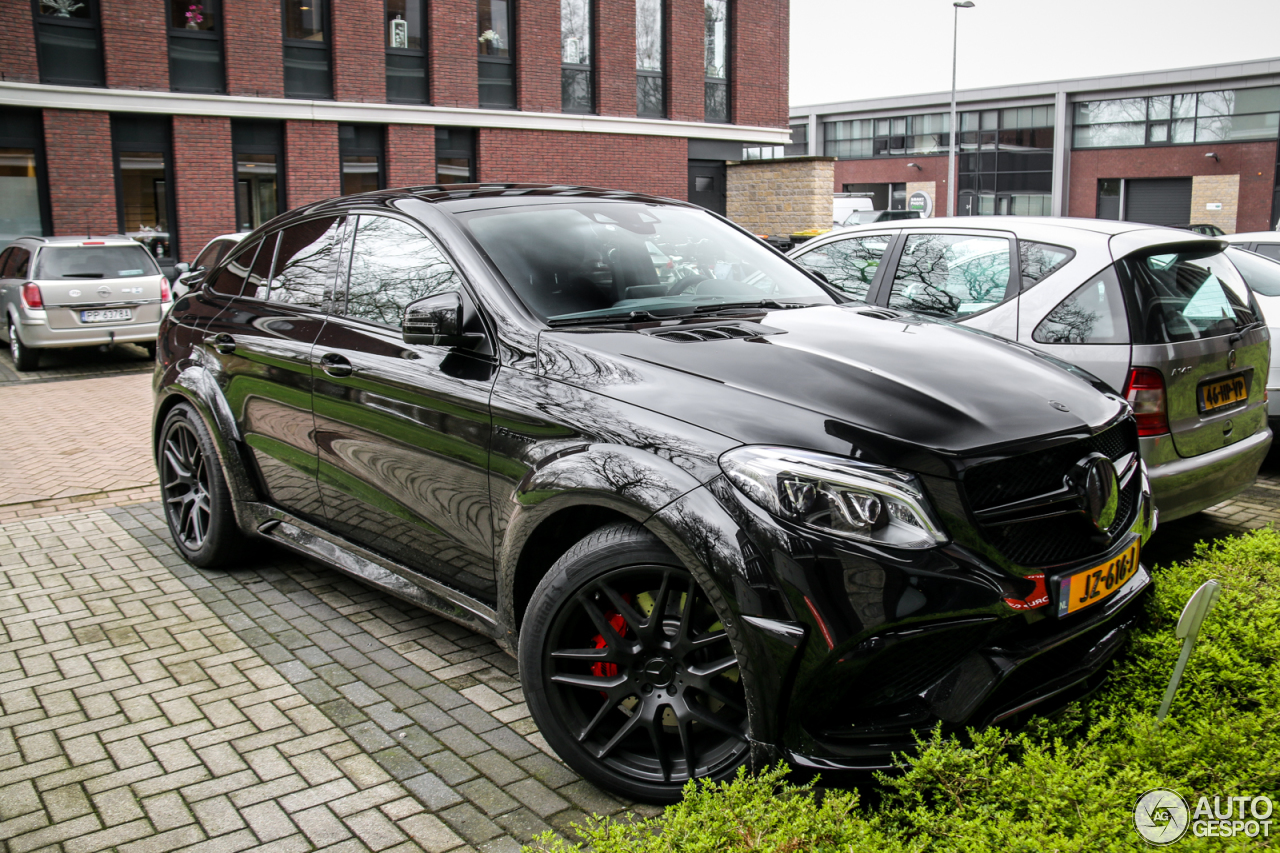 Mercedes amg gle 63 s coup hamann widebody 22 maart for 2017 amg gle 63 mercedes benz