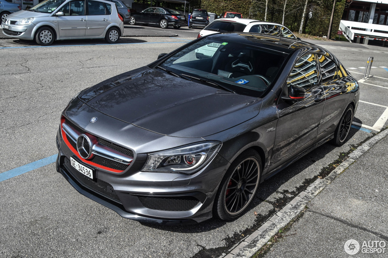 Mercedes benz cla 45 amg edition 1 c117 22 march 2017 for Mercedes benz amg cla 45