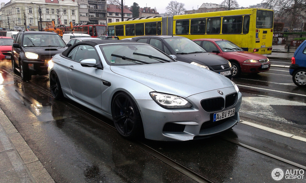 bmw m6 f12 cabriolet 23 march 2017 autogespot. Black Bedroom Furniture Sets. Home Design Ideas