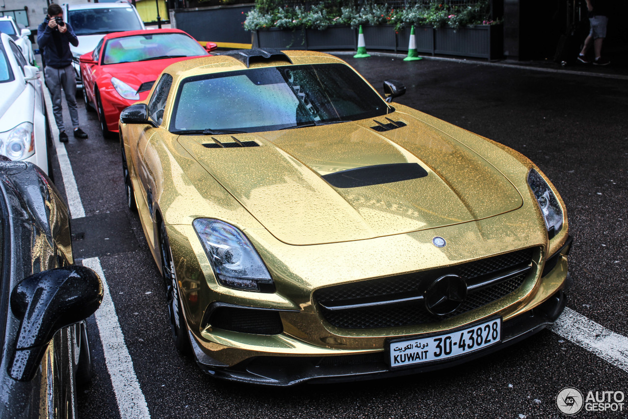 Mercedes benz sls amg black series 24 march 2017 for Mercedes benz sls black series