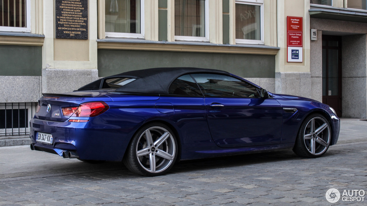 bmw m6 f12 cabriolet 25 march 2017 autogespot. Black Bedroom Furniture Sets. Home Design Ideas