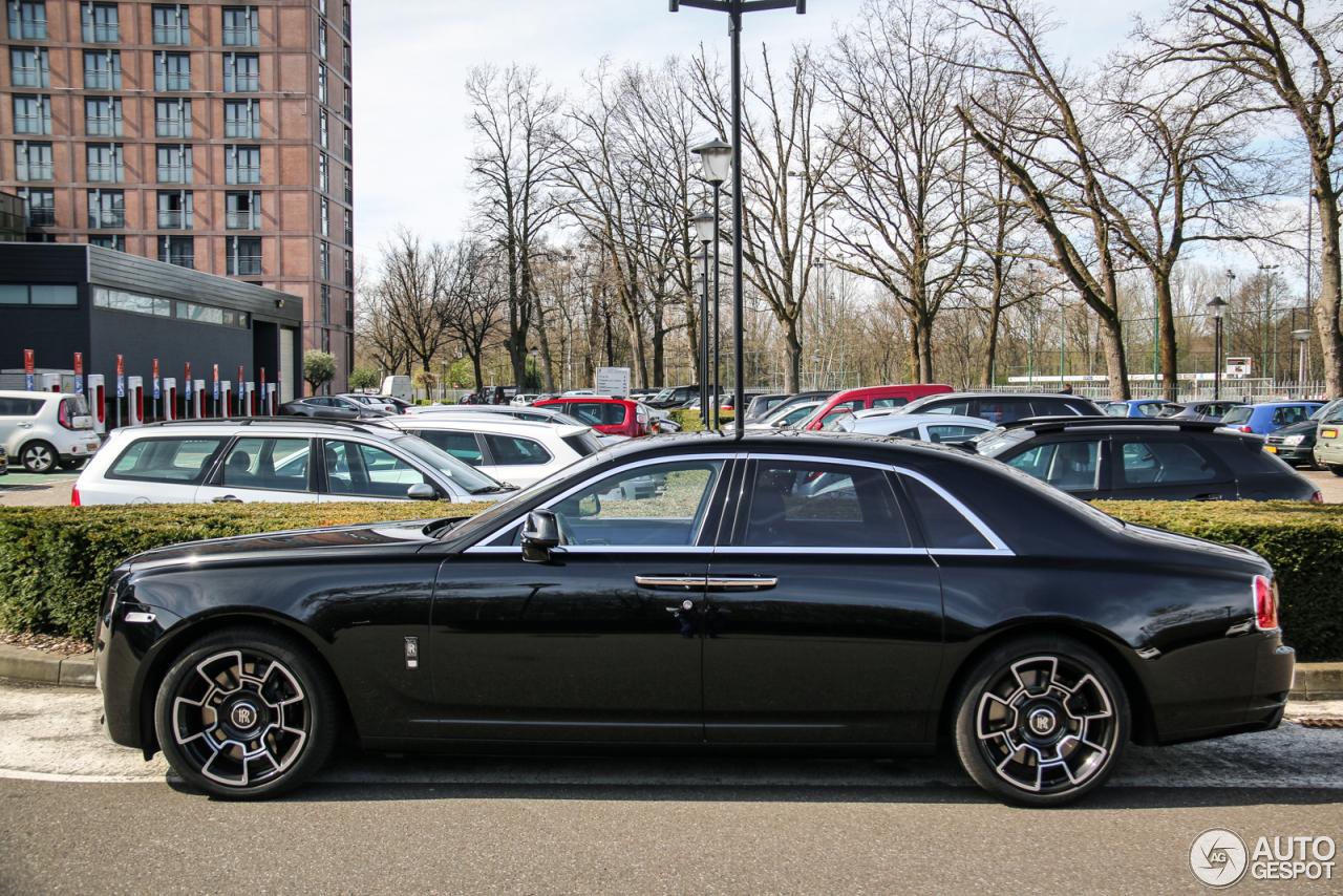 Rolls-Royce Ghost Series II Black Badge - 25 March 2017 ...