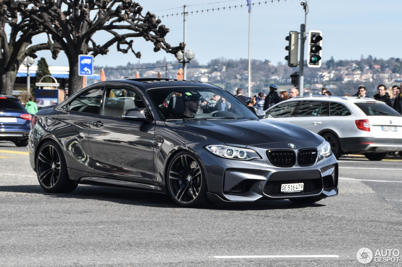 bmw m2 coup f87 27 march 2017 autogespot. Black Bedroom Furniture Sets. Home Design Ideas