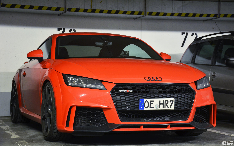 מרענן Audi TT-RS 2017 - 27 maart 2017 - Autogespot PJ-72