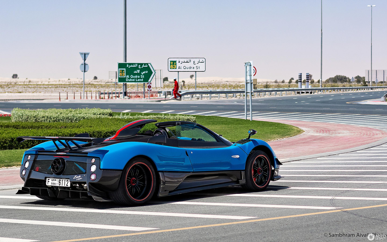 Blue Pagani Zonda Roadster Supercars Gallery